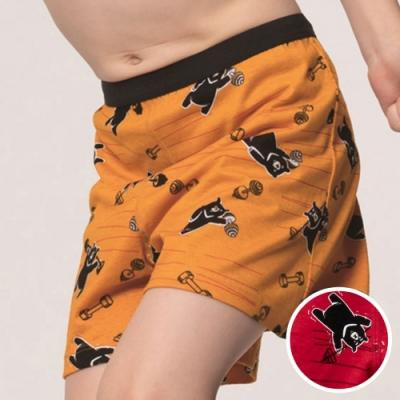 DADADO-熊尬有力 110-130男童內褲(紅) 品牌推薦-舒適寬鬆