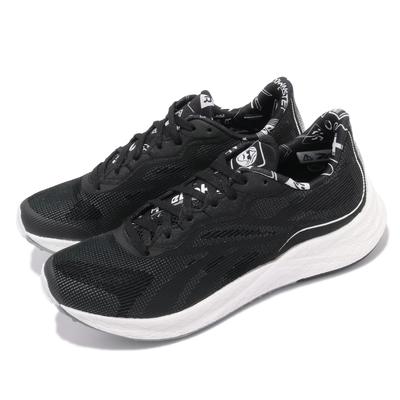 Reebok 慢跑鞋 Floatride Energy 女鞋 輕量 透氣 舒適 避震 路跑 健身 黑 白 FZ0682