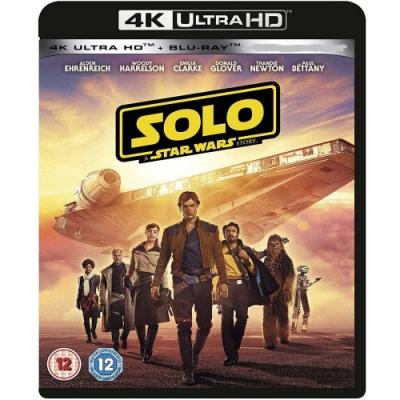 星際大戰外傳:韓索羅 4K UHD+BD 雙碟限定版