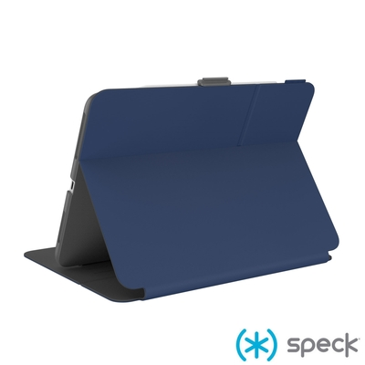 Speck Balance Folio iPad Pro 11吋(2021)/Air 10.9吋多角度防摔側翻皮套-深海藍