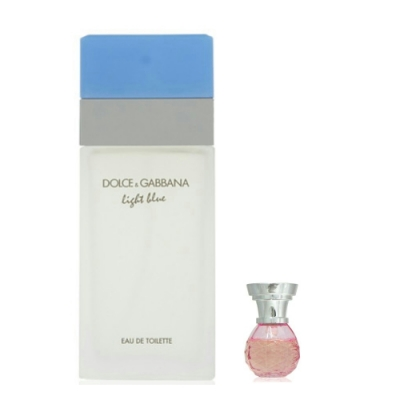 Dolce&Gabbana Light Blue 淺藍淡香水100ml 搭贈隨機 4ml 小香