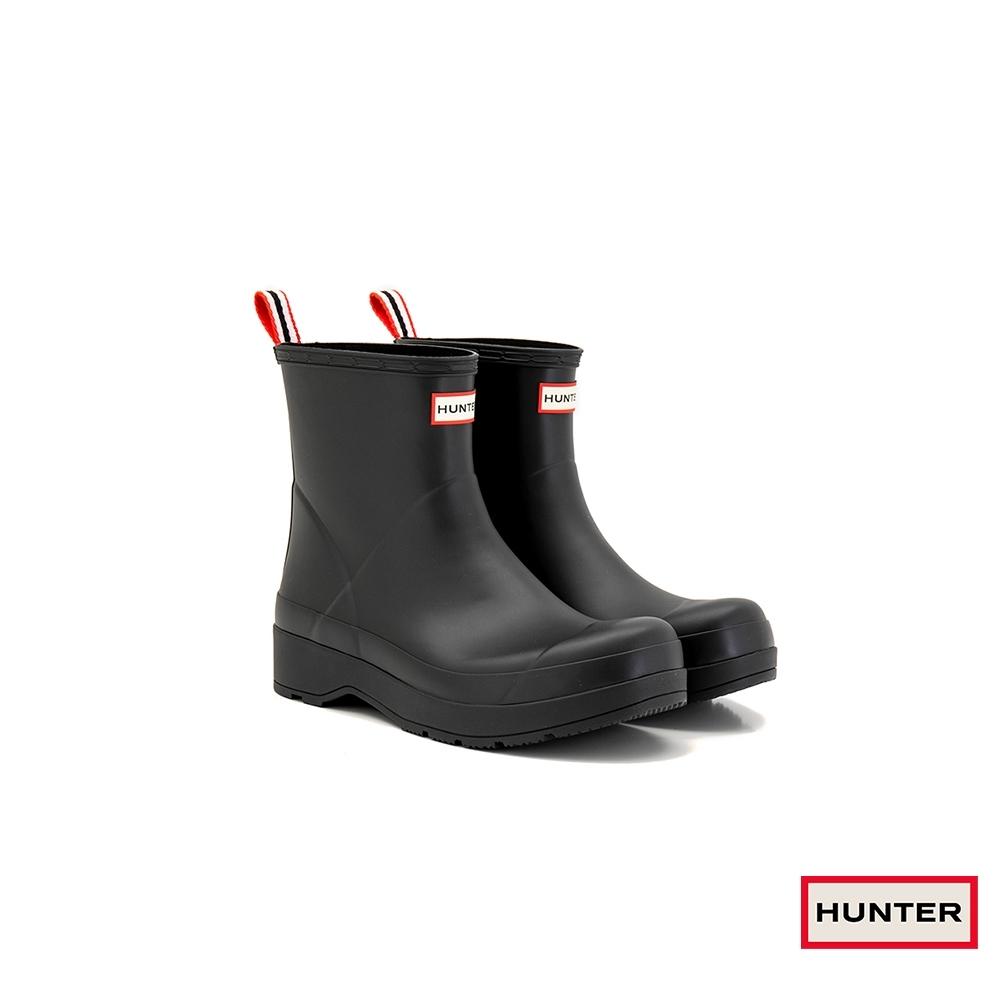HUNTER - 男鞋 - PLAY霧面短靴 - 黑