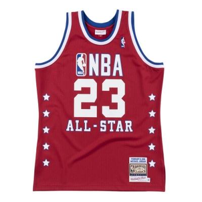 M&N G2二代 Authentic球員版復古球衣 All-Star Game 1989 #23 Michael Jordan