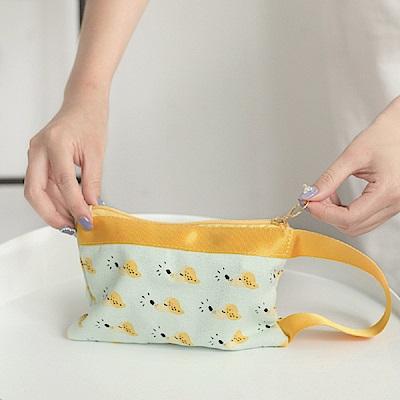 (3入組)卡通衛生棉收納包/化妝包/零錢包