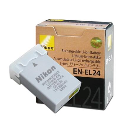 Nikon EN-EL24 / ENEL24 專用相機原廠電池(盒裝)Nikon 1 J5