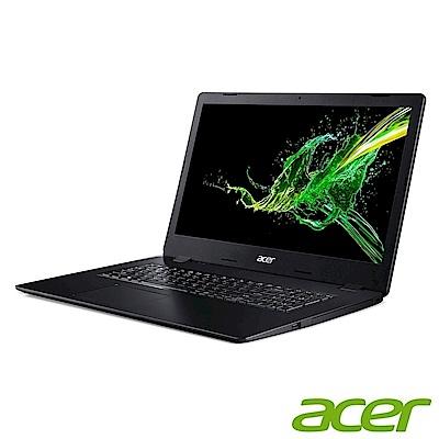 Acer A317-32-C3Y8 17吋文書筆電(N4120/4G/256G SSD+1TB/Aspire 3/黑/推薦
