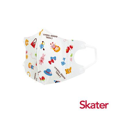 Skater幼兒立體口罩- 洋娃娃(5入/包)共6包