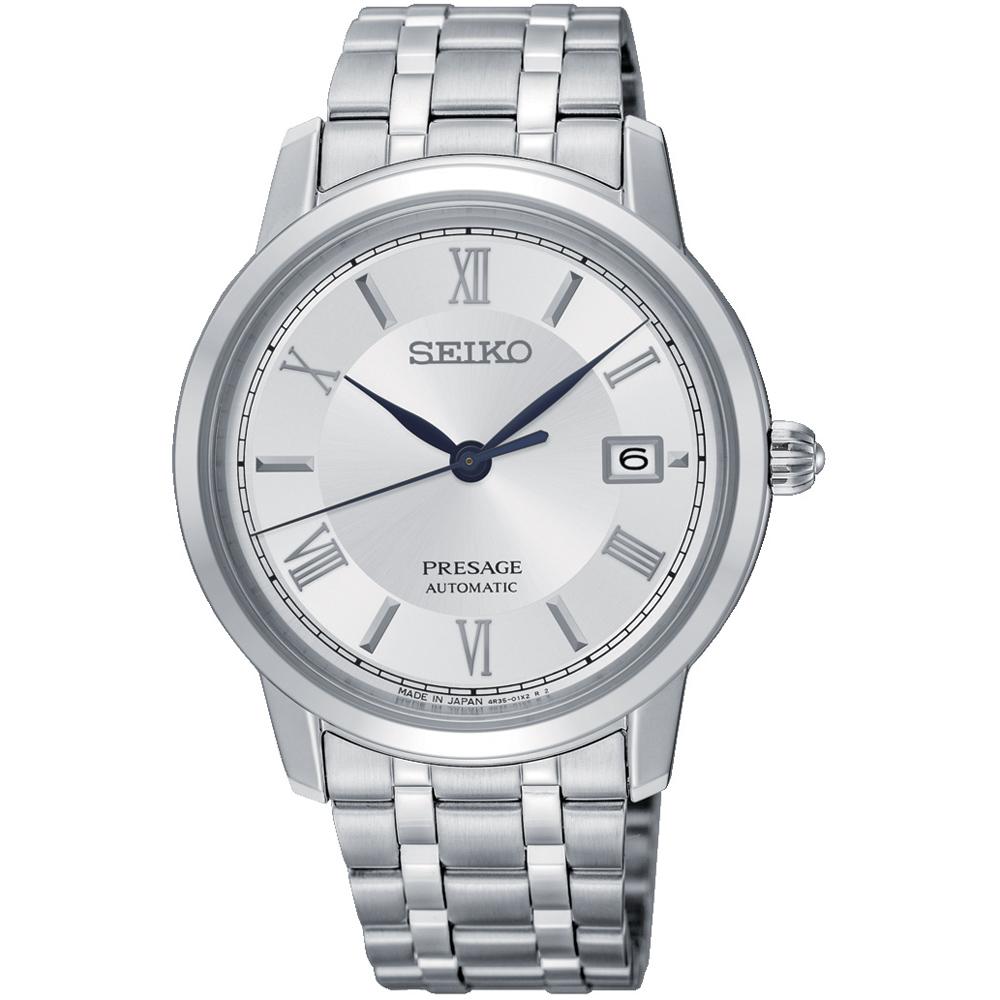 SEIKO精工 Presage系列 希臘經典機械腕錶 4R35-02J0S