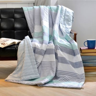 義大利La Belle 居家生活 純棉涼被 5x6.5尺