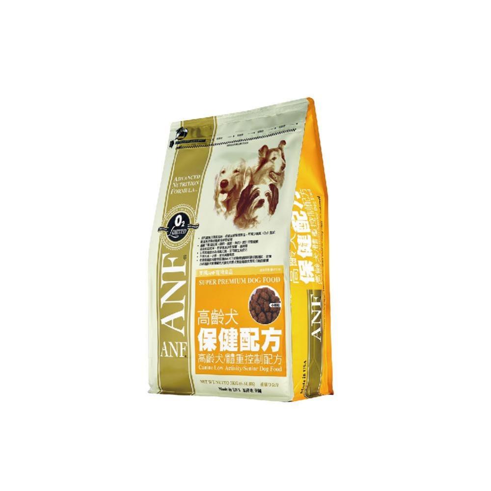 【ANF 愛恩富】老犬保健〈大顆粒〉3KG(高齡犬體重控制配方)