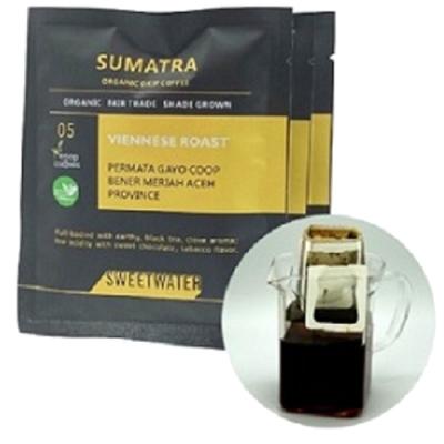 100%有機咖啡 SWEETWATER|蘇門答臘有機掛耳咖啡(10gx10入)