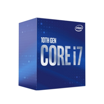 Intel英特爾 Core i7-10700 中央處理器 (8核/16緒/2.9GHz/1200腳位/內顯)