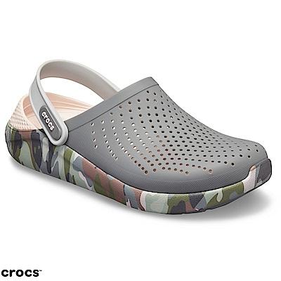 Crocs卡駱馳(中性鞋)LiteRide圖紋克駱格 205359-0EI