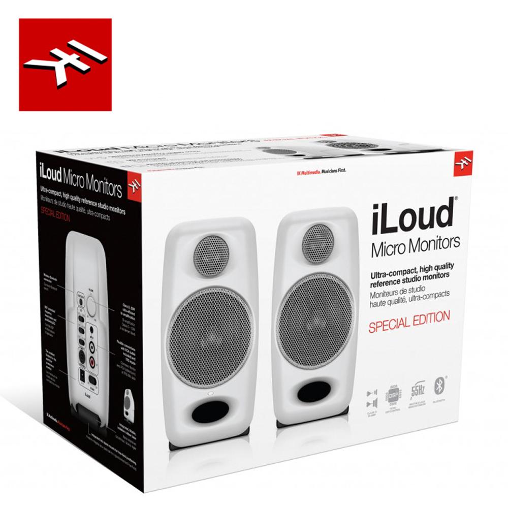 IK Multimedia iLoud Micro Monitor 監聽喇叭 白色特別限定
