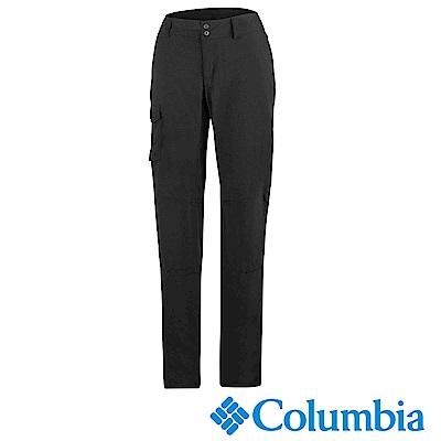 Columbia哥倫比 女款-防曬50快排長褲-黑色 UAR80030BK
