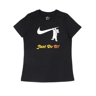 Nike 女 AS W NSW TEE SWOOSH CAT 圓領T(短)