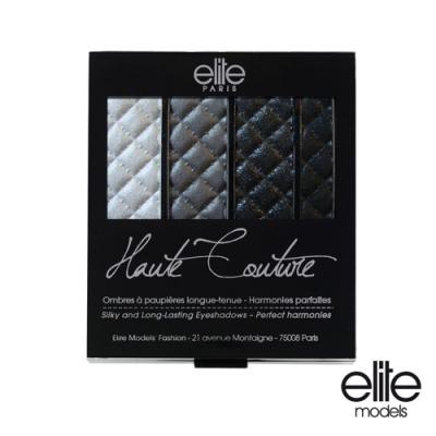 法國 elite 時尚眼影組合 龐克黑皮