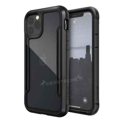 DEFENSE 刀鋒極盾Ⅲ iPhone 11 Pro 5.8吋耐撞擊防摔手機殼(爵帝黑)