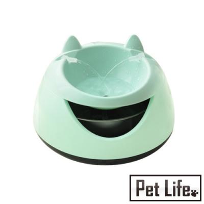 Pet Life 電動式寵物飲水器/餵水盆 CT01蘋果綠