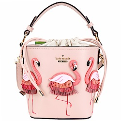 Kate Spade Flamingo Pippa 紅鶴造型束口兩
