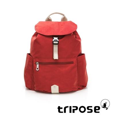 tripose MEMENTO微皺尼龍輕量後背包-大(番茄紅)