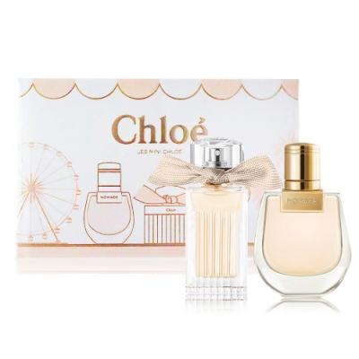 Chloe Les Mini Chloe 小小雙氛派對禮盒[同名+芳心之旅淡香精]20mlX2-新版