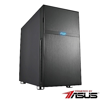 華碩B360平台[美編鬥將]i7六核P2000繪圖SSD電玩機