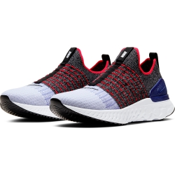 NIKE 運動鞋 襪套 懶人鞋 編織 慢跑  男鞋 灰藍 CJ0277002 REACT PHANTOM RUN FK 2