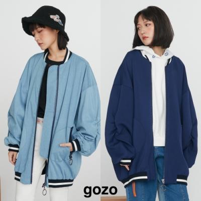 [時時樂限定]gozo兩款任選990-率性布勞森外套