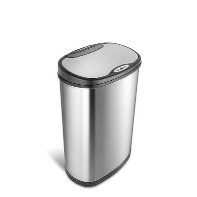 美國NINESTARS時尚不袗感應垃圾桶50L(廚衛系列)