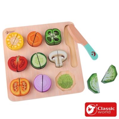 Classic world 蔬菜切切拼板
