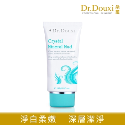 【Dr.Douxi 朵璽】 水晶靈深海礦物泥膜100g(軟管包裝)