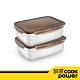 【CookPower鍋寶】316不鏽鋼保鮮盒2000ml買一送一 product thumbnail 2