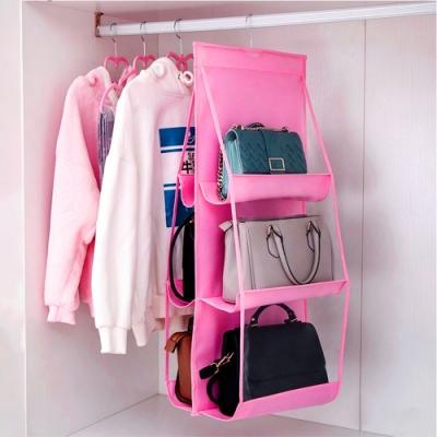 【Cap】 衣櫥吊掛式包包防塵收納神器
