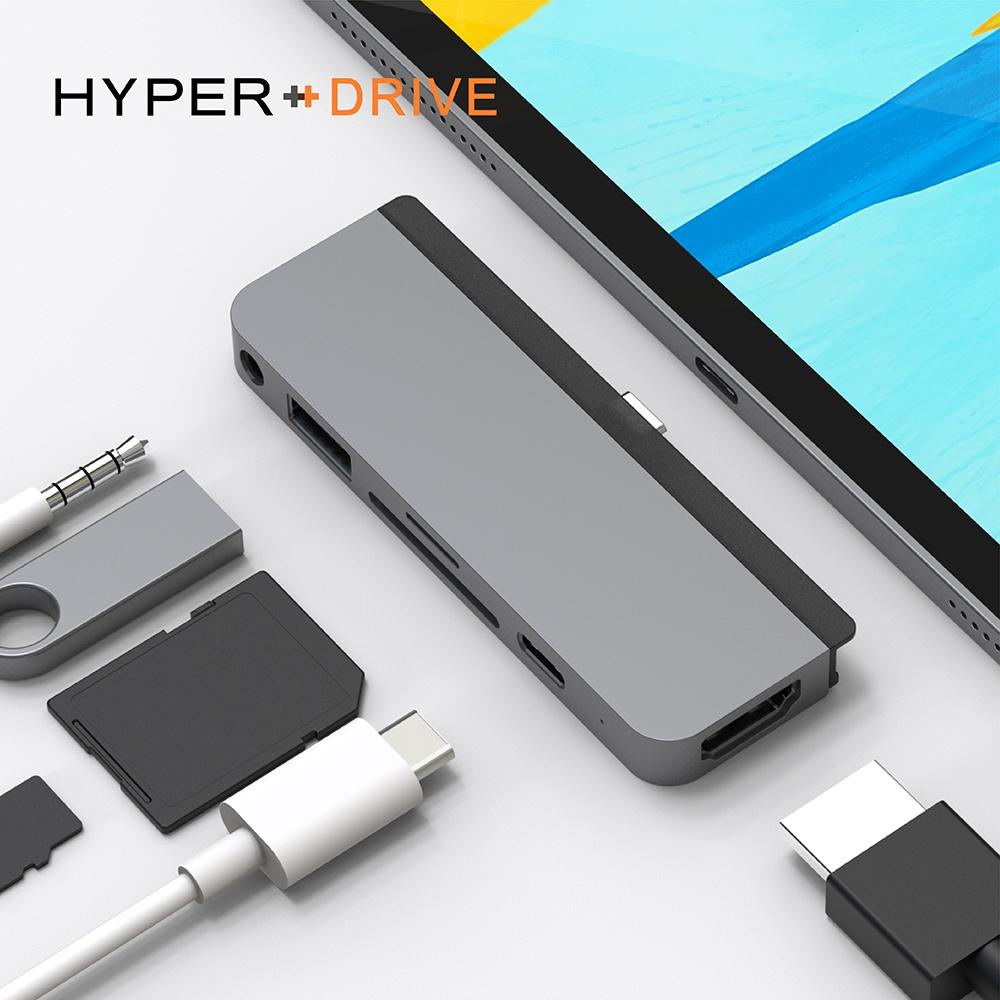 HyperDrive 6-in-1 iPad Pro USB-C Hub 多功能集線器