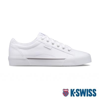 K-SWISS Port帆布運動鞋-女-白