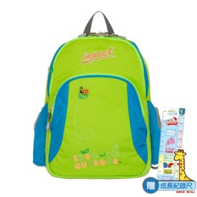 【IMPACT】陽光森林系列-瓢蟲幼稚園書包-蘋果綠 IM00H04LG