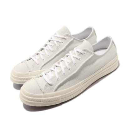 Converse 休閒鞋 All Star 低筒 穿搭 男女鞋 基本款 簡約 帆布 情侶鞋 米白 黑 167750C