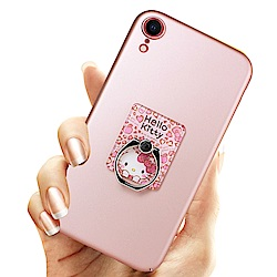 iStyle iPhone XR 6.1吋 Hello Kitty 粉色魅力支架手機殼