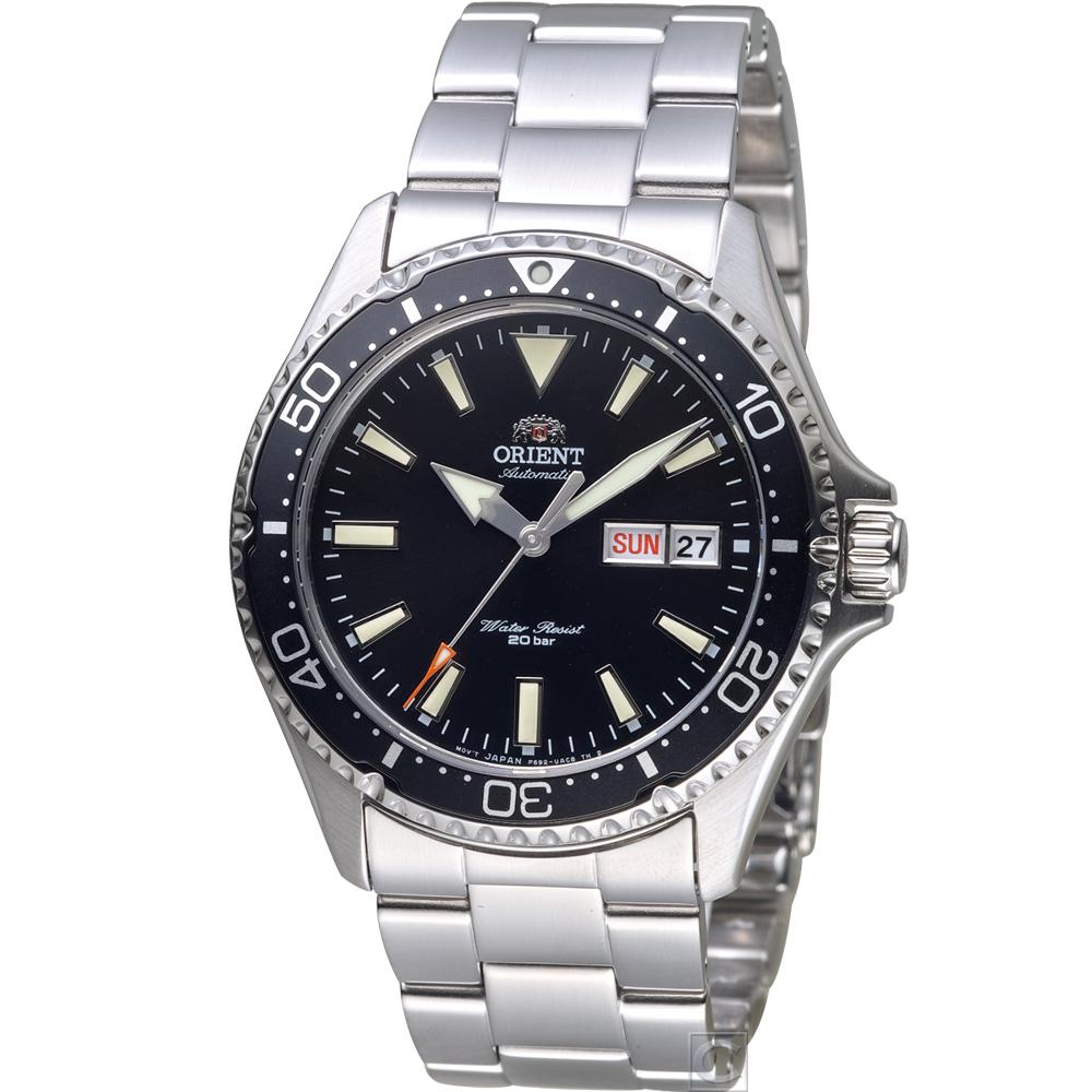 ORIENT 東方 海豹部隊200M潛水機械錶(RA-AA0001B)黑/42mm