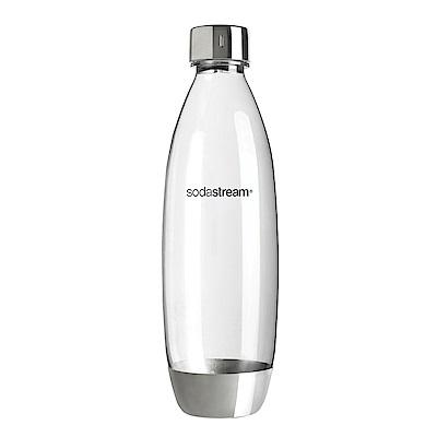 Sodastream 金屬水滴寶特瓶1L- 1入