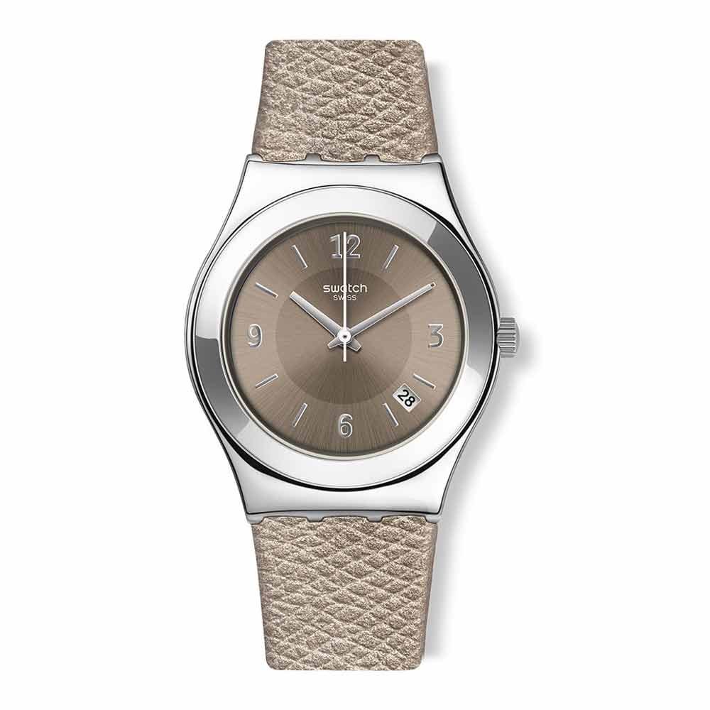 Swatch 金屬系列 JUSTSAND金屬-沙棕 -33mm