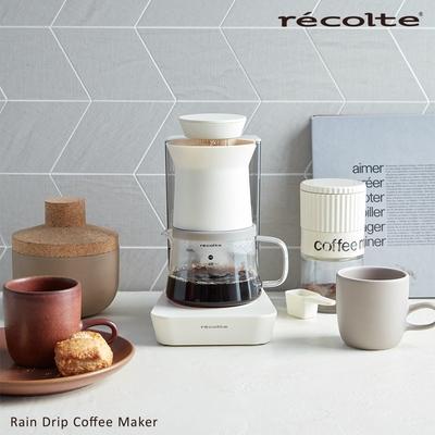 recolte 日本麗克特Rain Drip 花灑萃取咖啡機-香草白