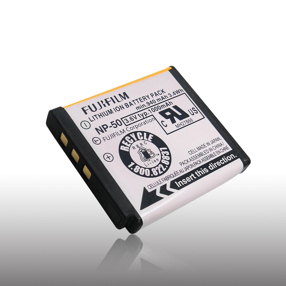 Fujifilm NP-50 NP50 專用相機原廠電池(全新密封包裝)