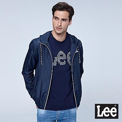 Lee 連帽風衣外套-丈青