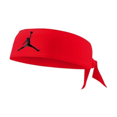 NIKE JORDAN JUMPMAN DRI-FIR頭帶 紅黑