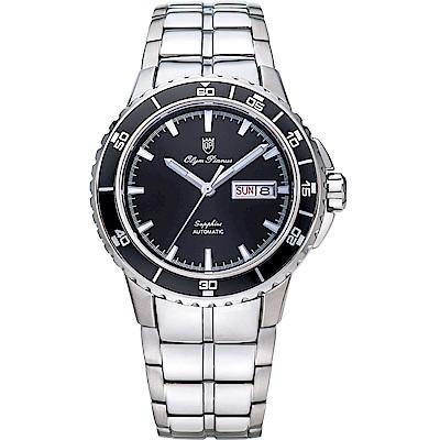 Olym Pianus 奧柏表 精鍊風格時尚自動機械錶 991AGS