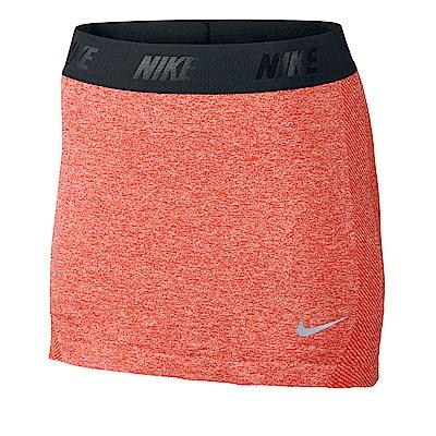 Nike Golf 女運動休閒短褲裙 橘紅 725781-696