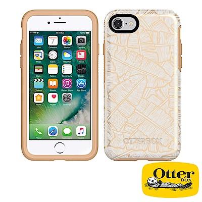 OtterBox iPhone7 / iPhone8炫彩幾何圖騰系列保護殼-金色...