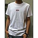 Levis 男款 短袖T恤 寬鬆版型 220gsm厚棉 迷你刺繡Box Logo